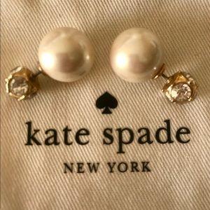 Kate Spade double sided earrings